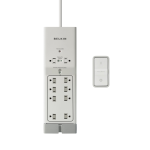 Belkin Switch F7C01110q AV Energy Saving Surge Protector with Remote Control