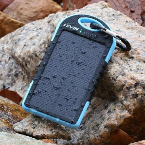 Levin portable solar panel charger pic