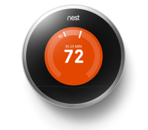 Apple's iPhone Creators smart and cool home thermostat!