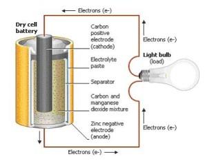 Battery Anatomy Diagram