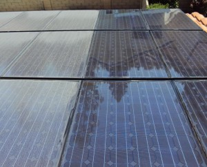 Dirty Solar Panels can decrease their energy efficiency by as much as 25 percent