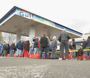 Gas shortages are common in the aftermath of a major storm