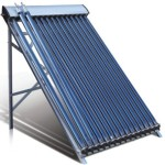 Evacuated Tube Type Solar Hot Water Heater