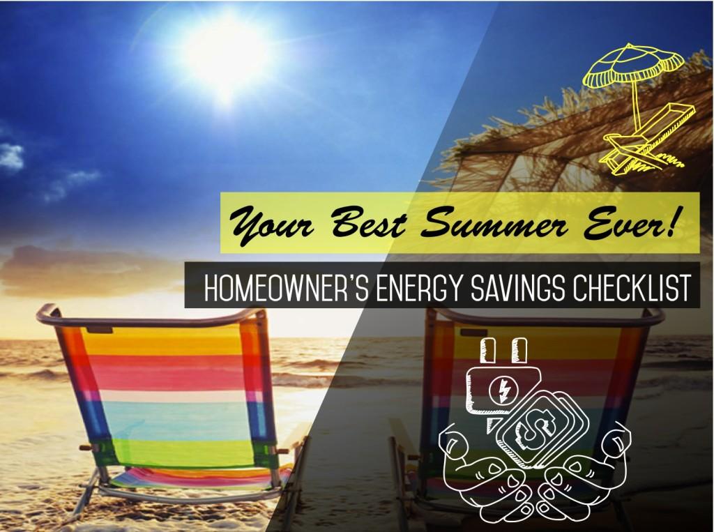 Homeowner's Energy Saving Checklist