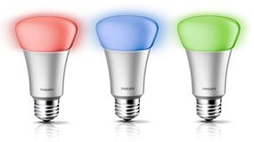 Philips Hue LED Light Bulbs can be adjusted to over 16 million colors