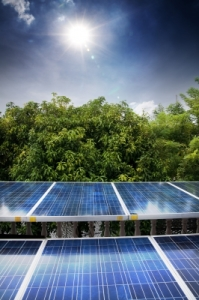 Ahhhh...Clean, energy producing - Solar Panels!