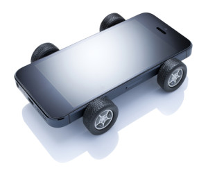 Imagine...a cell phone powered car.