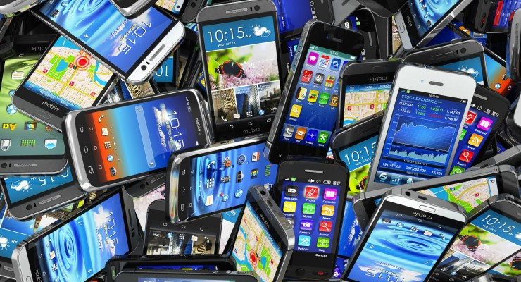 Old Cell Phones Full Size