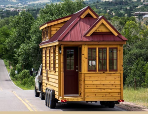 Tumbleweed Cypress Tiny Home on the road