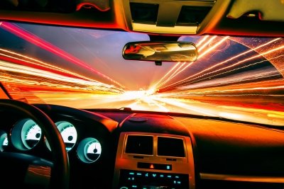 hypermiler car traveling fast