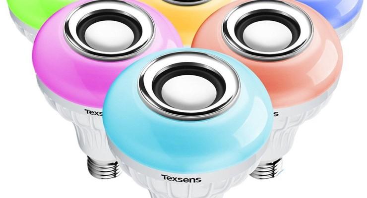 Texsens LED Speaker Bulb