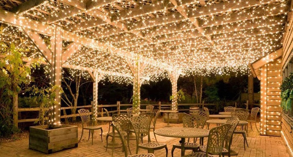 Solar Powered String Lights Patio Your handy guide to wireless outdoor landscape lights solar vs amir solar powered string lights workwithnaturefo