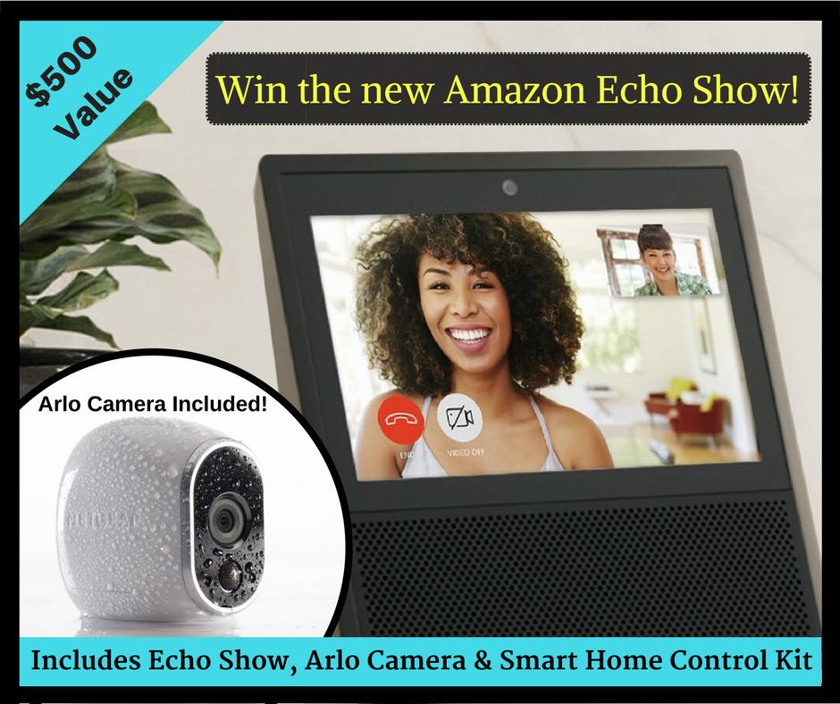 Amazon Echo Arlo Prize August 2017