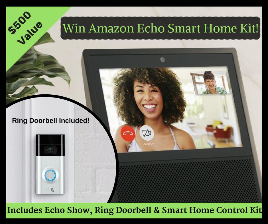 Amazon Echo Ring Prize January 2018
